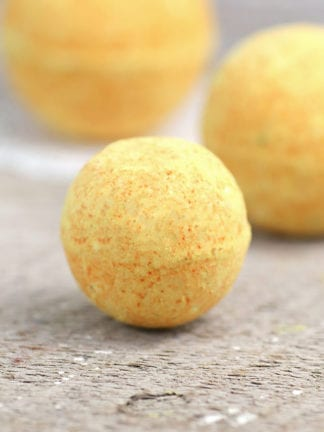 Turmeric All Natural Bath Bomb Recipe Without Citric Acid thumbnail