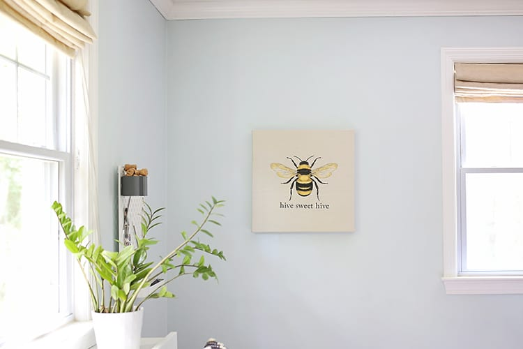 How to Fake Easy Embroidery Art - Bumble Bee