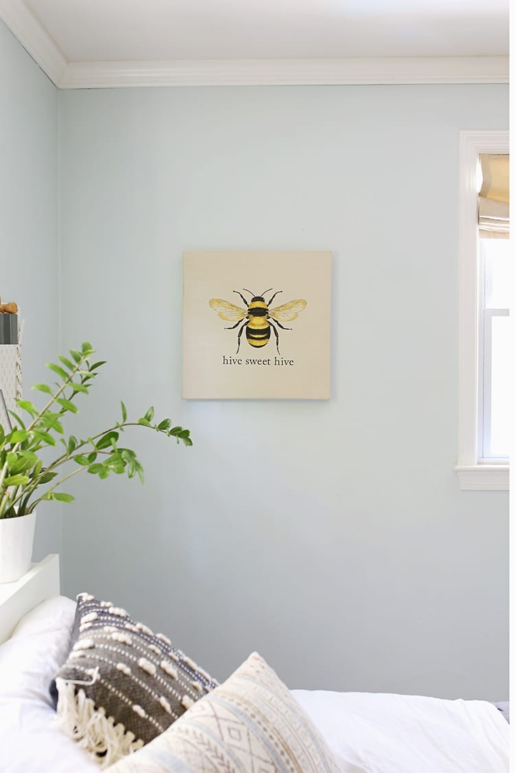 No-Sew Simple Embroidery Wall Art