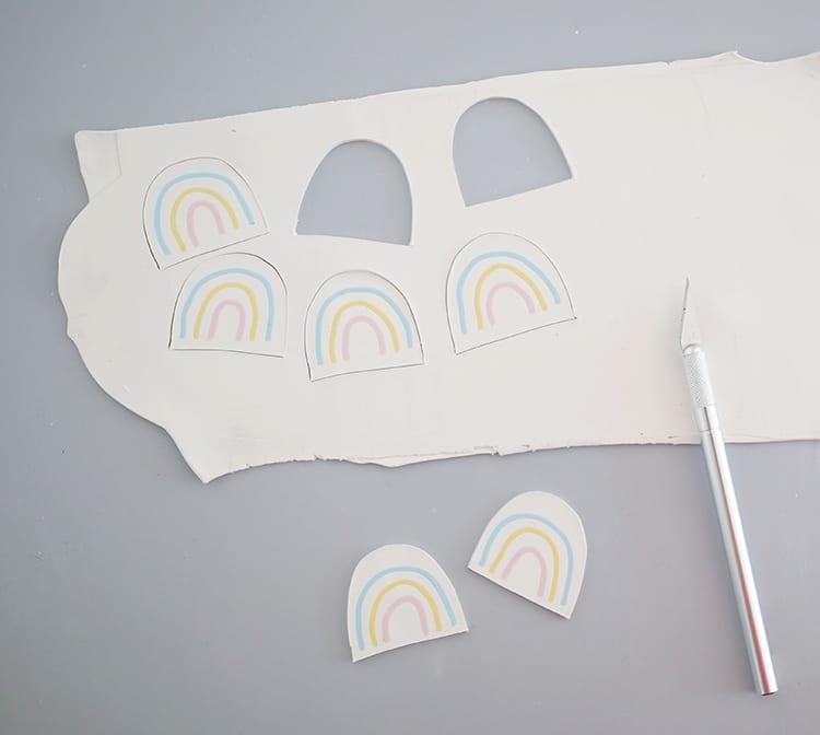 DIY Polymer Clay Earrings Step 6