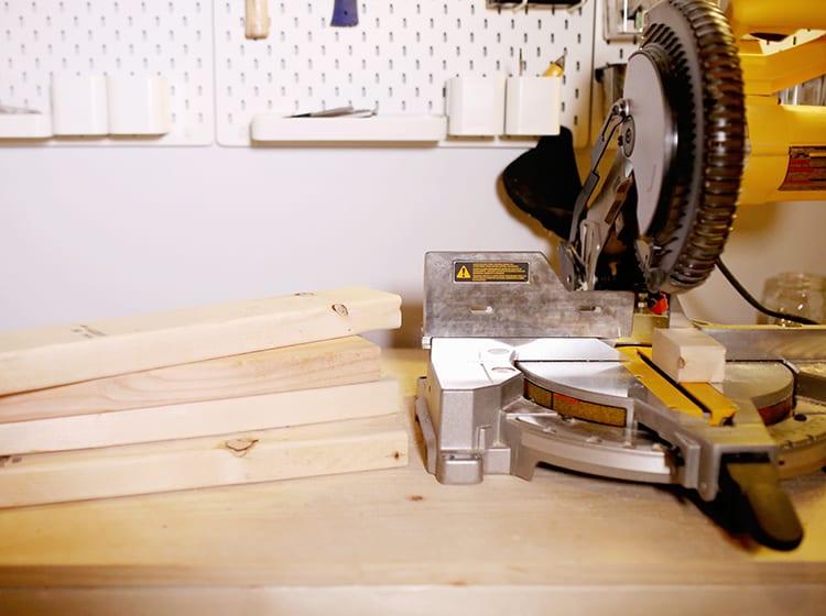 DIY Wood Frame Sign - Step 1