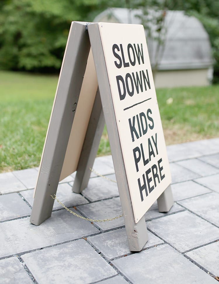DIY Wood Frame Sign - Step 11