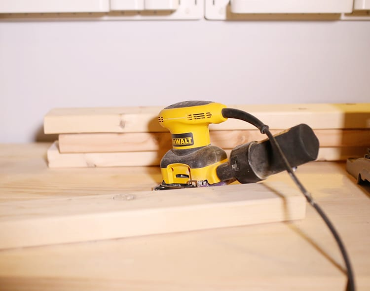 DIY Wood Frame Sign - Step 2