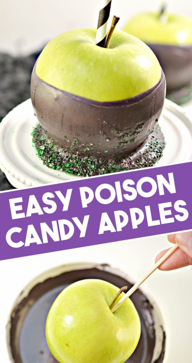 Halloween Poison Apple Recipe 1