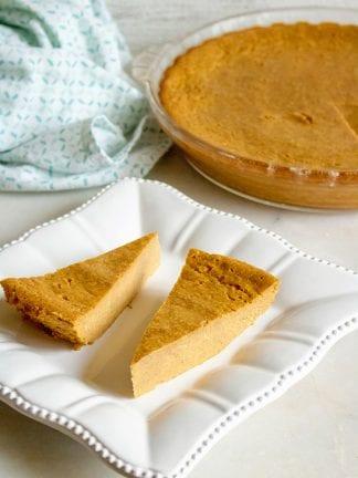 Easy Crustless Pumpkin Pie Recipe thumbnail