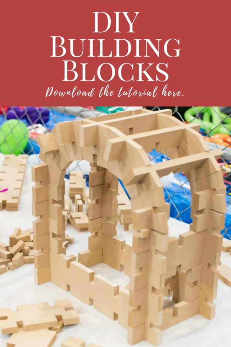 How to Make DIY Interlocking Building Blocks