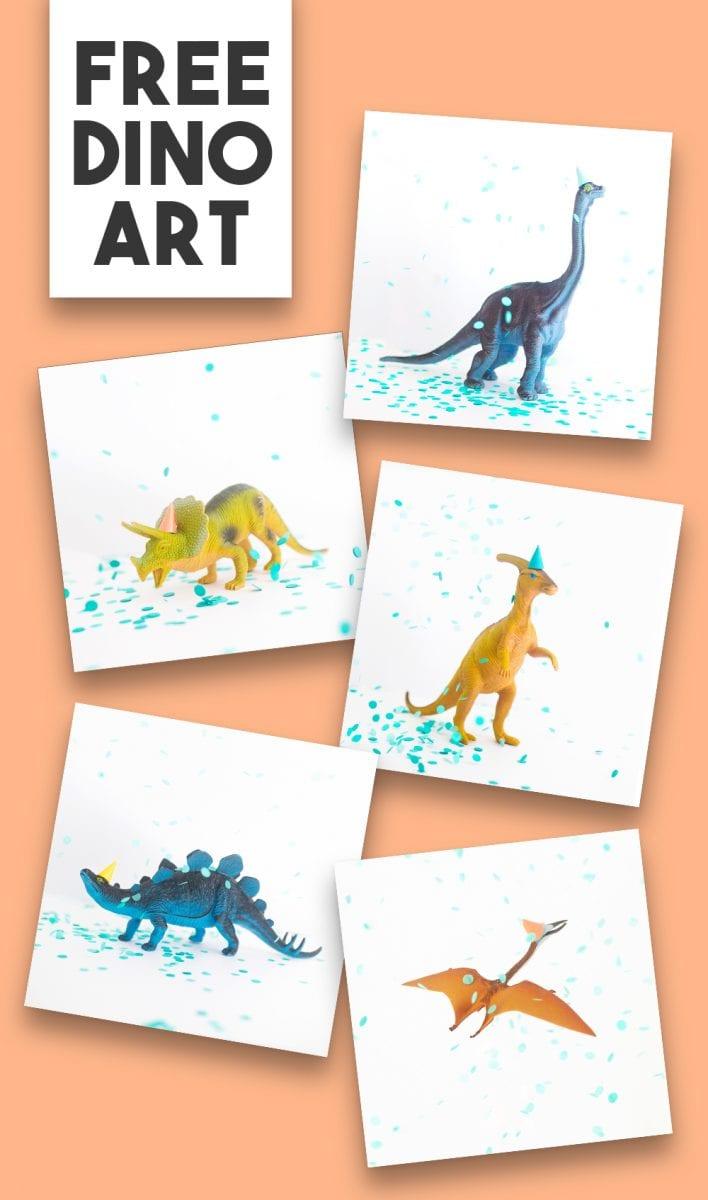 Free Dinosaur Art for Preschool