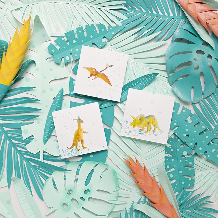 Free Printable Dinosaur Art for Preschool for a Dinor Birthday Party Decorations