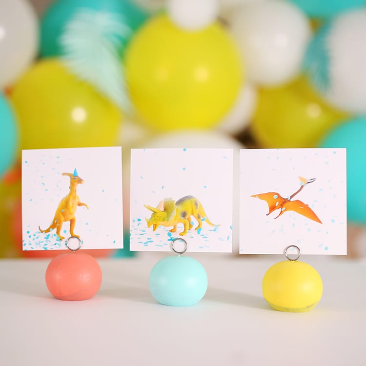 Free Printable Dinosaur Art for Preschool or Nursery Decor