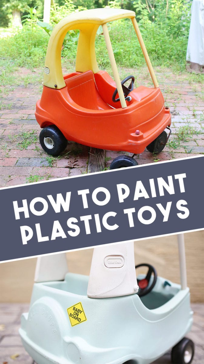 How to Paint Little Tikes Plastic Toys