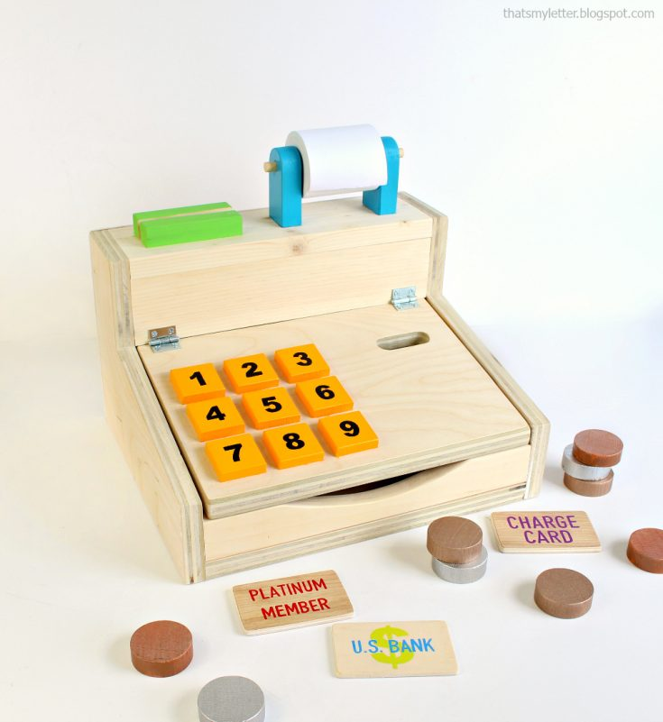 Wood Cash Register DIY Plans