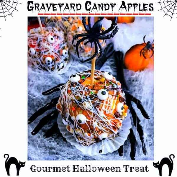 Graveyard Candy Apples (Gourmet)
