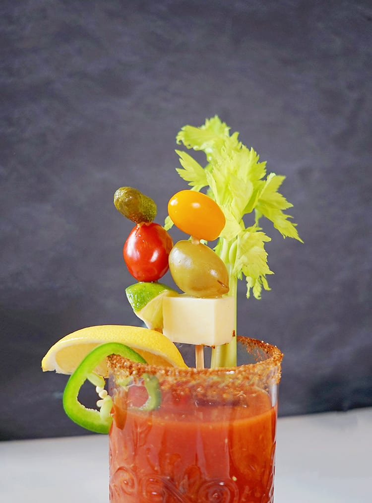 Homemade Spicy Bloody Mary Recipe