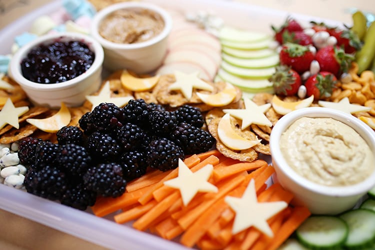 Kids Party Food Ideas - Cheese Board