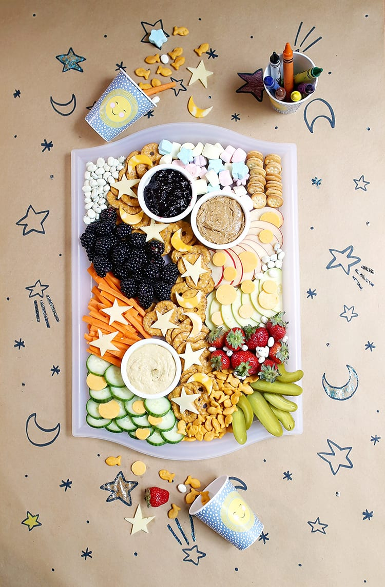 Kids Party Food Ideas - Snack Board