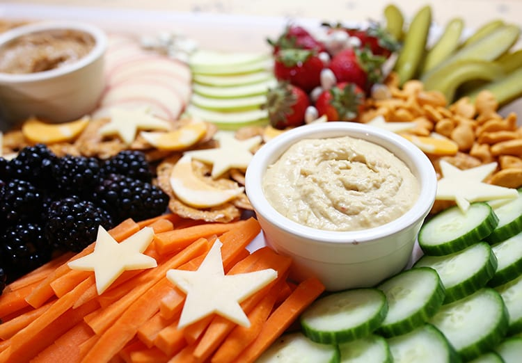 Kids Party Food Ideas - Snack Tray