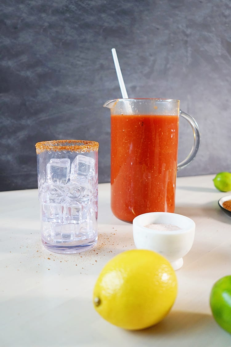 Simple and Spicy Bloody Mary Recipe