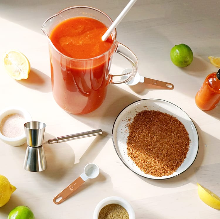 Spicy Recipe for Bloody Mary Mix