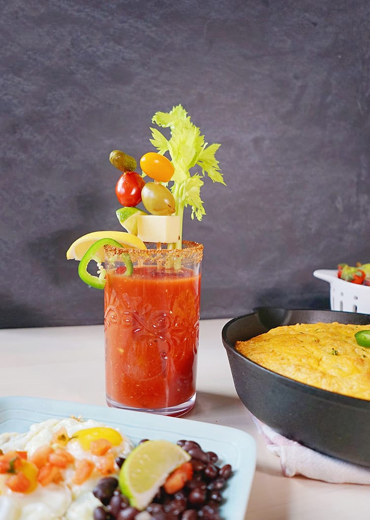The Best Bloody Mary Garnish and Topping Ideas