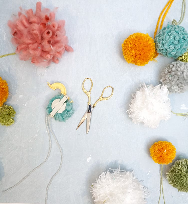 How to Make a Wreath Step by Step - Making Pom Poms