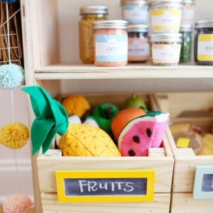 How to Make DIY Play Food for Kids
