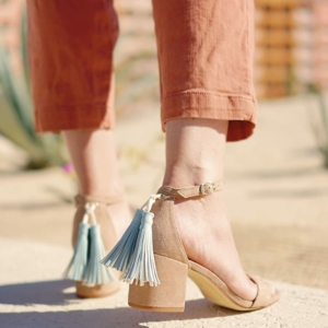 How to Make Faux Leather Tassels for Purses or Shoes