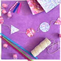 Quick and Easy Mini Party Garland