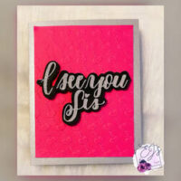Easy Embossed Greeting Card