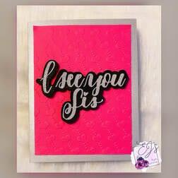 Easy Embossed Greeting Card