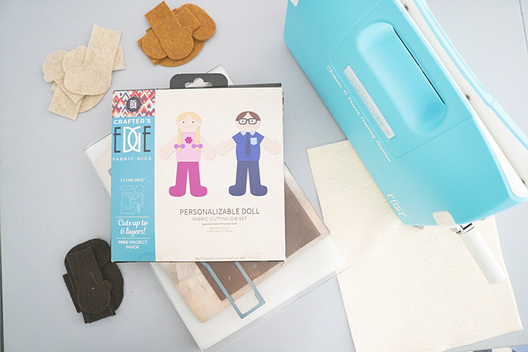 Crafter's Edge Crossover II machine with personalizable doll die set
