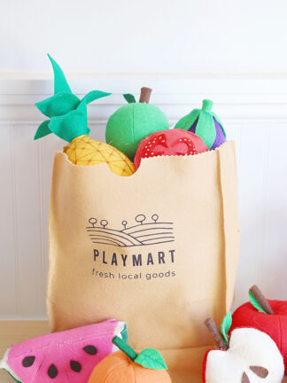 How to Make a No-Sew Toy Grocery Bag from Felt thumbnail