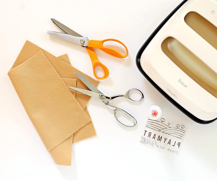 How to Make a Felt Grocery Bag