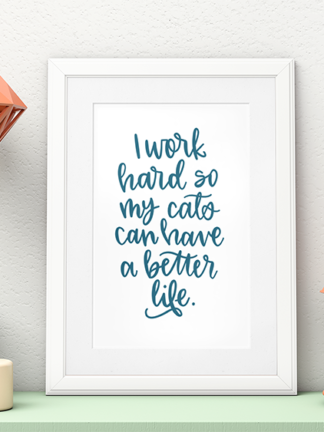 Take Your Cat to the Vet: Tips and Free Printable Art thumbnail